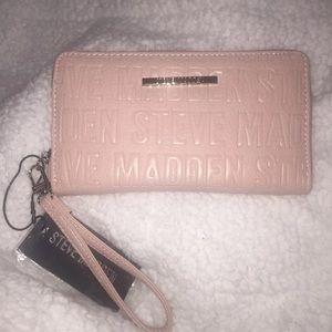 Steve Madden Pink Wristlet / Wallet / Clutch